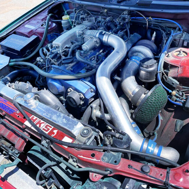 RB25DET with TD06RX SINGLE TURBO.