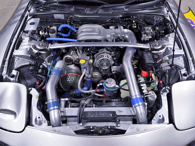 FEED SPEC-5 13B SIDE PORT COMPLETE ENGINE with GTW3684R SINGLE TURBO.