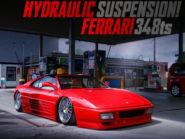 HYDRAULIC SUSPENSION INSTALLED FERRARI 348ts.
