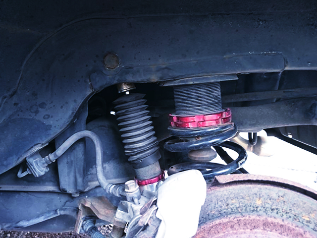 COILOVER of HB21S ALTO WORKS RSZ.