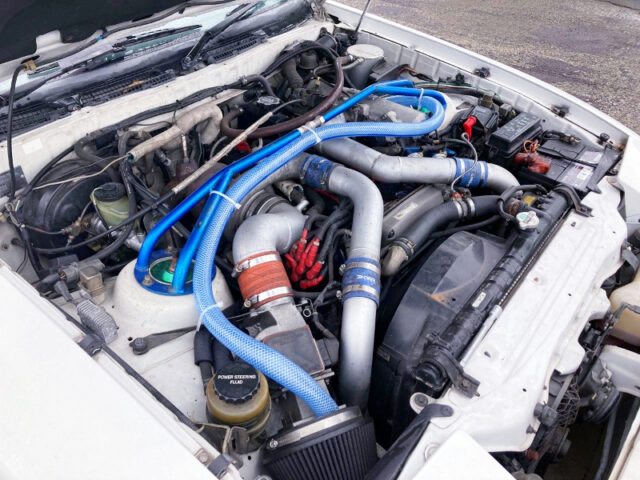 1G-GTEU 2.0L ENGINE with T300 SINGLE TURBO.