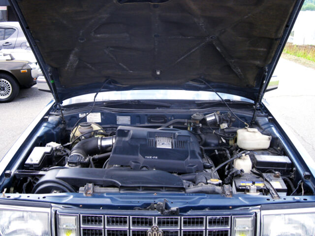 1UZ V8 ENGINE into GS120 CROWN SEDAN ENGINE ROOM.
