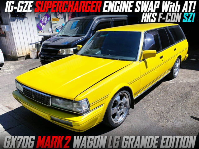 1G-GZE SUPERCHARGER SWAPPED GX70G MARK 2 WAGON.