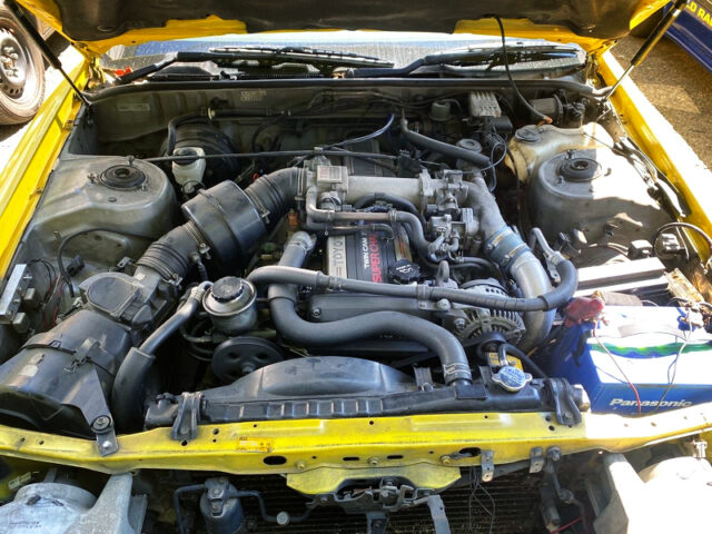 1G-GZE SUPERCHARGER ENGINE.