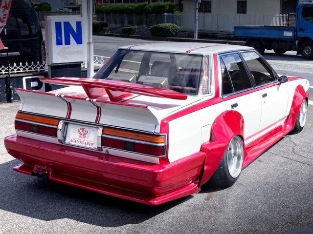 REAR EXTERIOR OF GX71 CRESTA KAIDO RACER.
