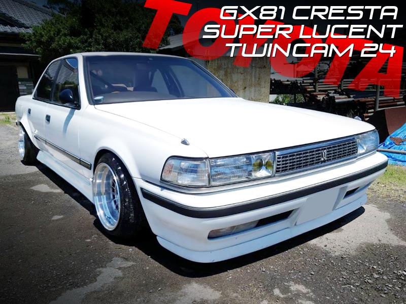 STANCED GX81 CRESTA SUPER LUCENT TWINCAM 24.