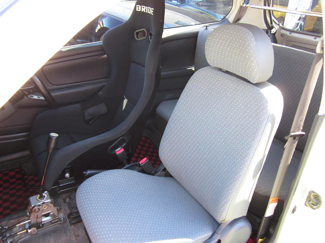 DRIVER'S FULL BUCKET SEAT of HA23V ALTO INTERIOR.