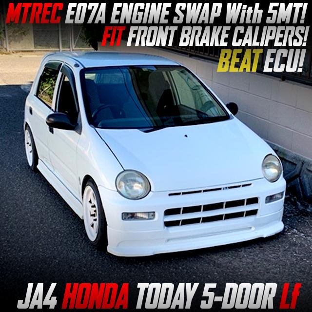 MTREC E07A ENGINE SWAPPED JA4 TODAY 5-DOOR Lf.