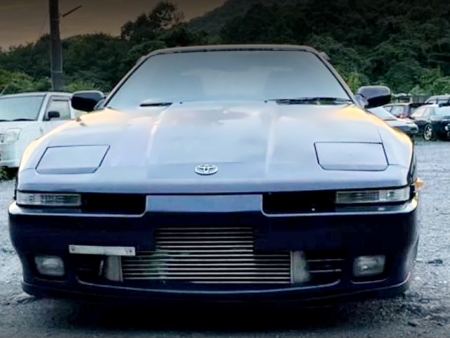 FRONT FACE OF JZA70 SUPRA.