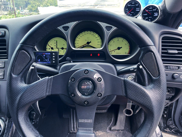 DRIVER'S STEERING and SPEED LUSTER OF JZS161 ARISTO.