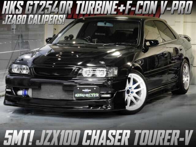GT2540R TURBO and F-CON V-PRO ECU into JZX100 CHASER TOURER-V.