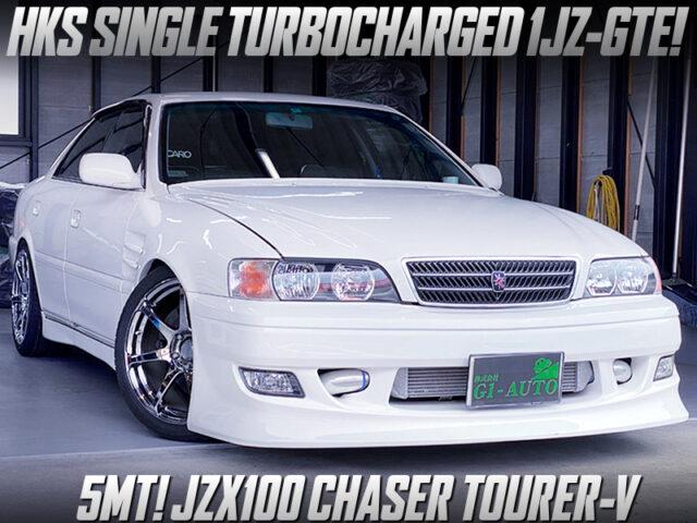 HKS SINGLE TURBOCHARGED JZX100 CHASER TOURER-V.