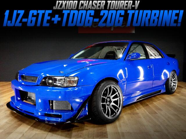 TD06-20G TURBOCHARGED 1JZ-GTE ENGINE into JZX100 CHASER TOURER-V.