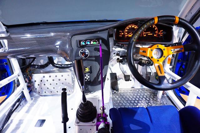 CUSTOM DASHBOARD of JZX100 CHASER DRIFT CAR.