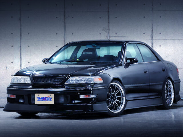 FRONT EXTERIOR OF JZX100 MARK 2.