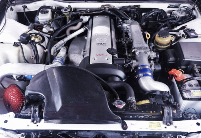 VVT-i 1JZ-GTE 2.5L TURBO ENGINE with FNATZ T618Z TURBO KIT.