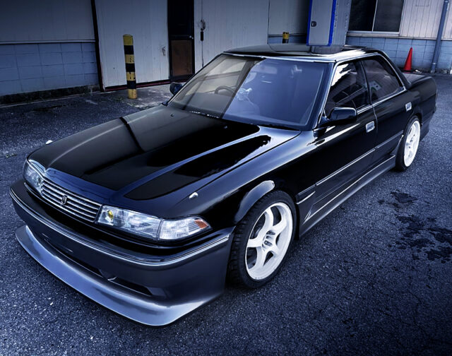 FRONT EXTERIOR OF JZX81 MARK 2.