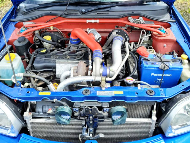 CG13DE 1300cc ENGINE with HKS TURBO.