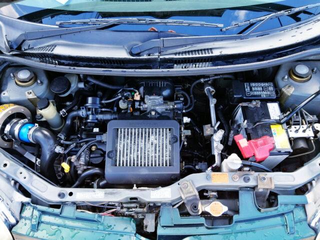 EF-DET TURBO ENGINE SWAP L650S MIRAGNO INTERIOR.