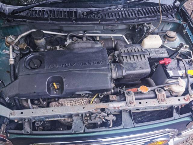 K3-VE 1300cc NATURALLY ASPIRATED ENGINE.