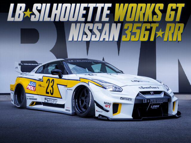 LB-SILHOUETTE WORKS GT WIDEBODY INSTALLED R35 GT-R.