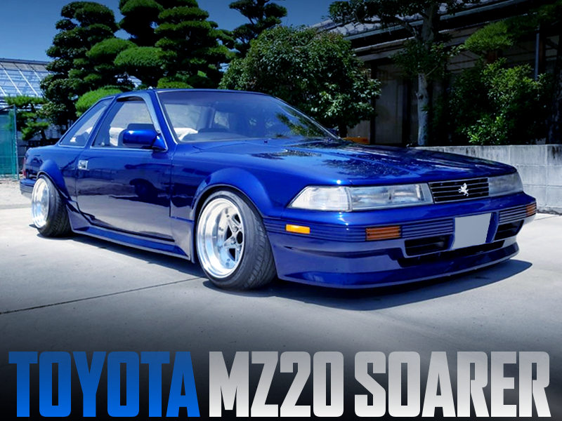 FLARE ARCHES WIDEBODY OF MZ20 SOARER.