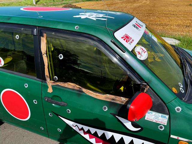 DRIVER'S DOOR OF NCP51V PROBOX.