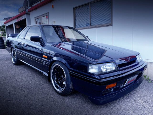FRONT EXTERIOR OF R31 GTS-R.