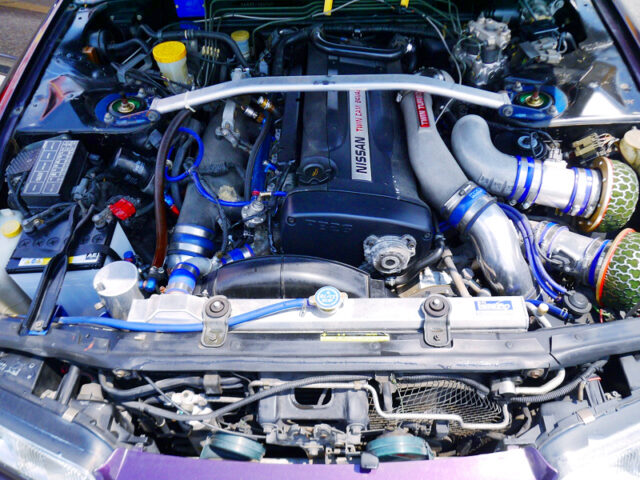 RB26DETT with GT-SS TWIN TURBO.
