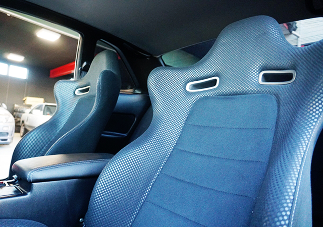 SEATS of R34 GT-R V-SPEC 2 Nur INTERIOR.