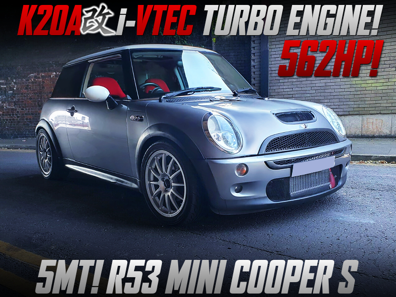 562HP 6266 TURBOCHARGED K20A SWAPPED R53 MINI COOPER S.