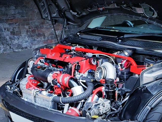 K20A i-VTEC ENGINE with PRECISION 6266 TURBO.