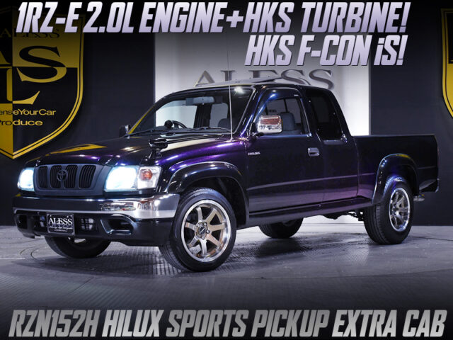 1RZ with HKS TURBO and F-CON iS ECU into RZN152H HILUX.