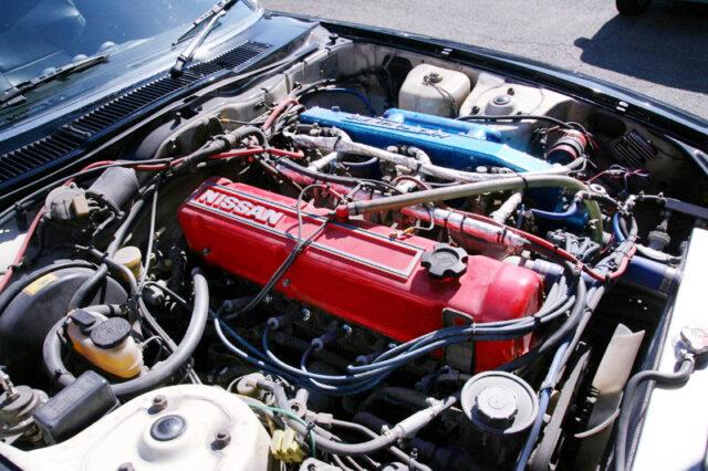 L28 ENGINE with HKS TURBO KIT.