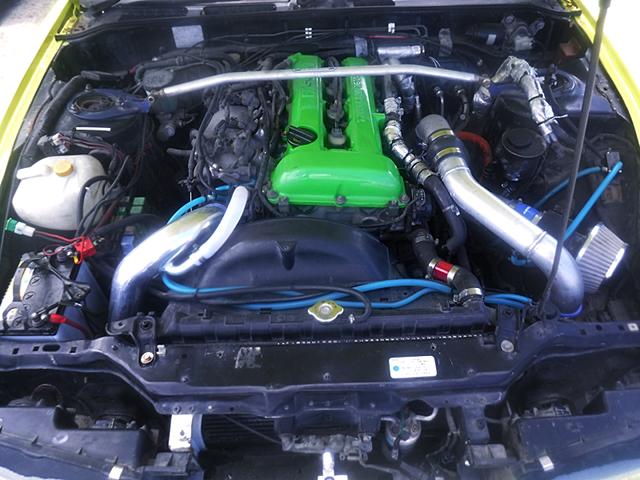 SR20DET ENGINE with TRUST TD06 TURBO.