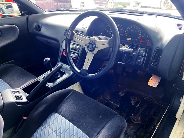 DRIVER'S NARDI STEERING And DASHBOARD.