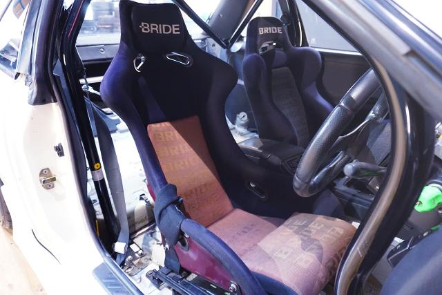 BRIDE SEATS of S13 SILVIA Ks.