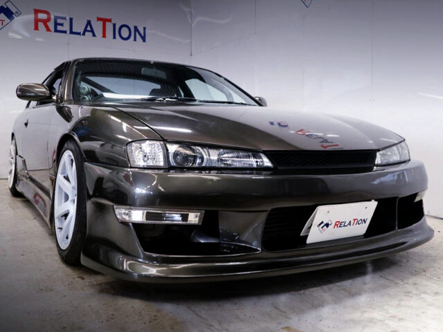 FRONT EXTERIOR OF FACELIFT S14 SILVIA Ks.