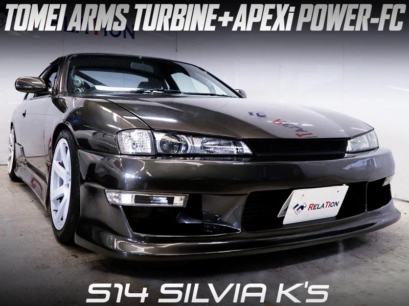TOMEI ARMS TURBOCHARGED FACELIFT S14 SILVIA Ks.