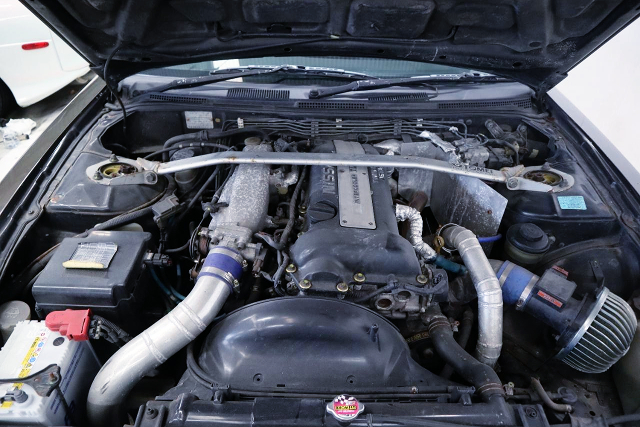 S14 SR20DET BLACKTOP TURBO ENGINE.