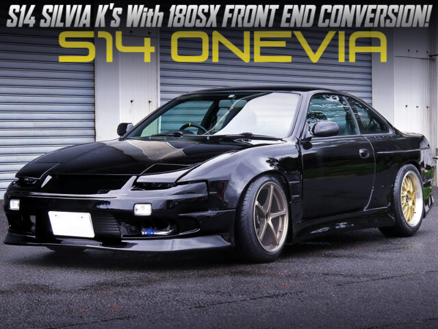 180SX FRONT END CONVERSION on S14 SILVIA Ks.