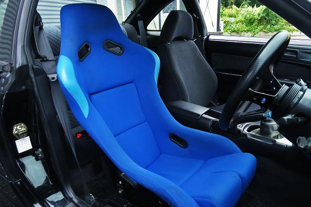 DRIVER'S FULL BUCKET SEAT INSTALLED S14 SILVIA Ks.
