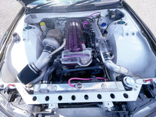 T78-33D SINGLE TURBOCHARGED 2JZ-GTE with 2.1L STROKER.