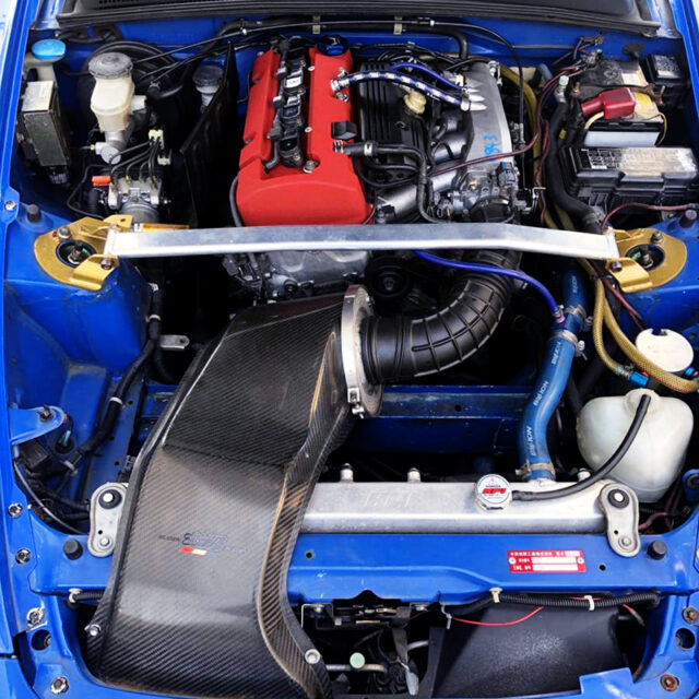 SPOON SPORTS F20C VTEC COMPLETE ENGINE.