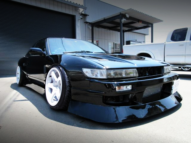 FRONT EXTERIOR OF 180SX TYPE-X to SILEIGHTY CONVERSION.