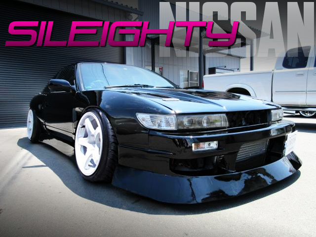 WIDEBODY and SILEIGHTY CONVERSION to 180SX TYPE-X.