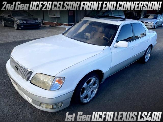 1st Gen UCF10 LEXUS IS400 With 2nd Gen UCF20 CELSIOR FRONT END CONVERSION.