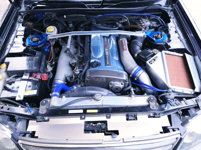 RB26DETT ENGINE with NISMO R1 TWIN TURBO.