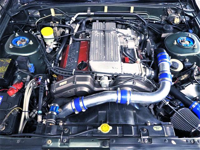 VG30DET 3.0L TURBO ENGINE.