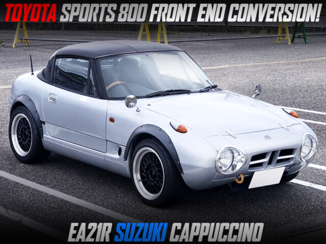 EA21R CAPPUCCINO with TOYOTA SPORTS 800 FRONT END CONVERSION.
